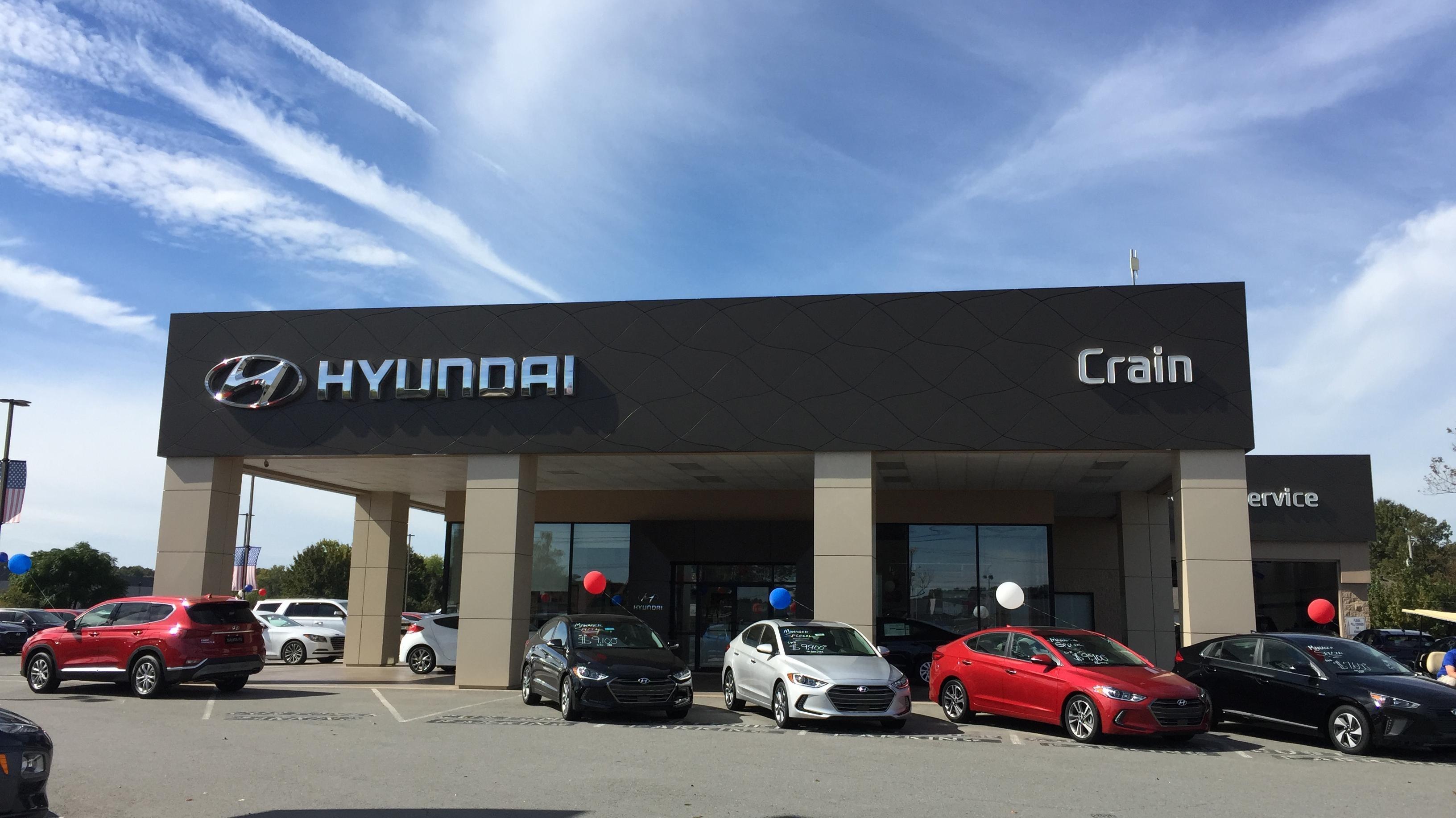 Crain Chevrolet Little Rock Ar >> Hyundai